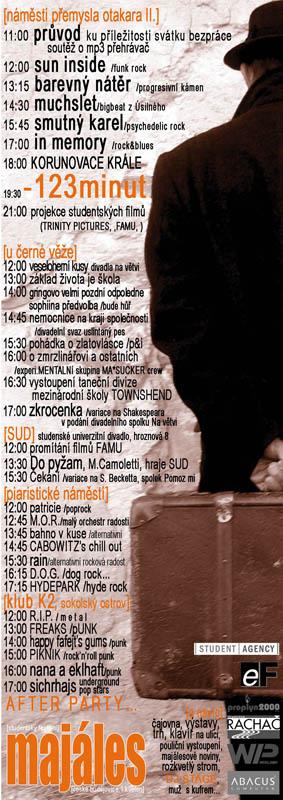 Plakát Budějovického majálesu 2004