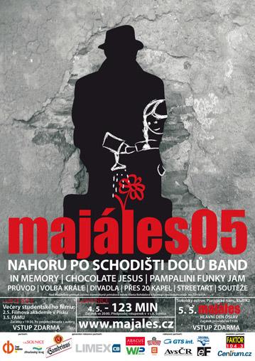 Plakát Budějovického majálesu 2005