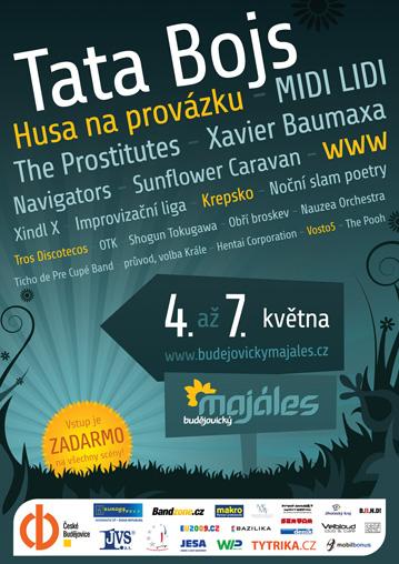 Plakát Budějovického majálesu 2009