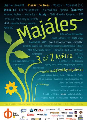 Plakát Budějovického majálesu 2010